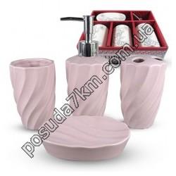 Наборы для ванной комнаты (однотонный)