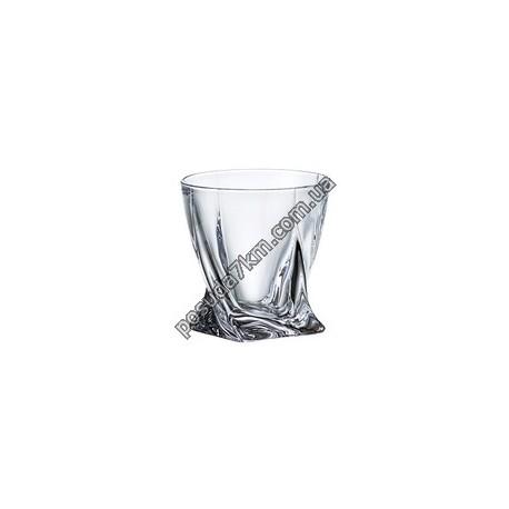 Набор стаканов для виски Quadro 340 мл.