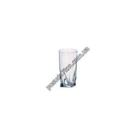 Набор стаканов для воды Quadro 340 мл.