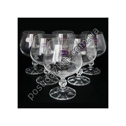 Набор бокалов для коньяка Claudia