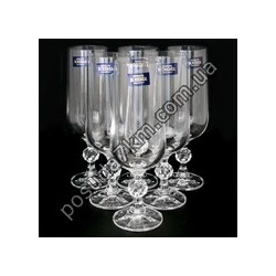 Набор бокалов для вина Claudia 180 мл.